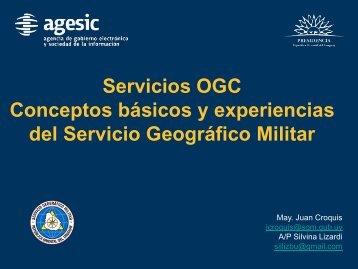 Servicios OGC Conceptos básicos y experiencias del Servicio ...