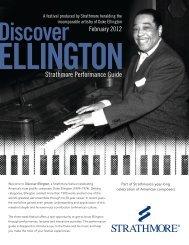 Duke Ellington – A Festival Produced By Strathmore Heralding
