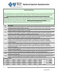 Sample epidural injection questionnaire - e-Referral