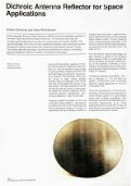 Dichroic Antenna Reflector for Space Applications CCITT ... - Page 4