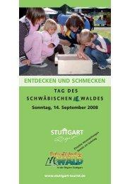 Sonntag, 14. September 2008 ENTDECKEN UND SCHMECKEN