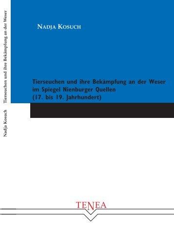 Tierseuchen und ihre Bekämpfung an der Weser - TiHo Bibliothek ...