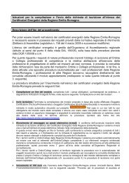 Istruzioni per la compilazione e l'invio della richiesta di ... - Energia