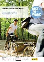 GUIDE PROMOTIONNEL POUR COORDINATEURS ... - Bike to work