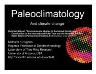 Powerpoint: Paleoclimatology And climate change Summer School ...