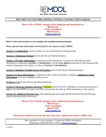 Al Medicare Edi Contract Instructions Md On Line