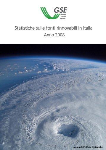 Statistica sulle fonti rinnovabili - Ambiente e Territorio