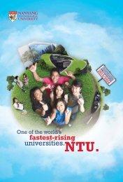 universities. - Nanyang Technological University