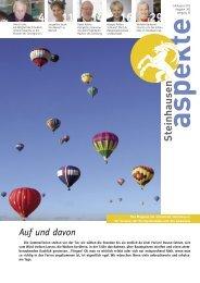 Juli / August 2012 - Aspekte Steinhausen