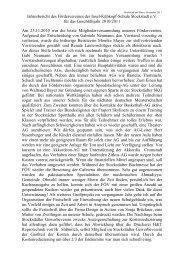 Jahresbericht 2010-2011 - Förderverein der Insel-Kühkopf-Schule ...