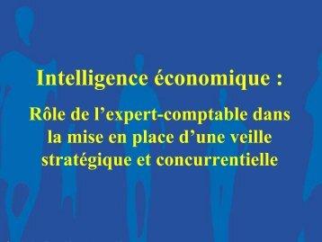 Intelligence économique : - Ordre des experts-comptables de Paris ...