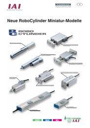 Miniatur RoboCylinder Übersicht - Schlüter Automation und ...
