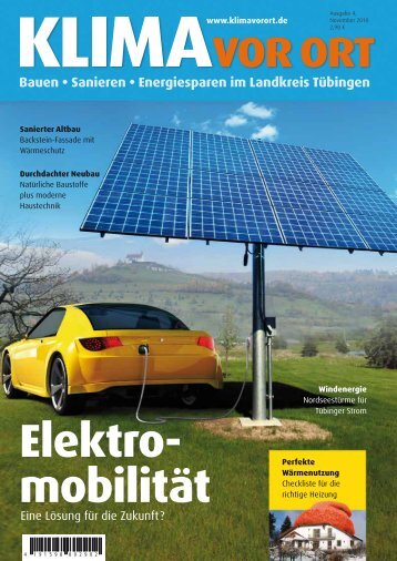 Bauen • Sanieren • Energiesparen im Landkreis ... - Klima vor Ort