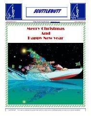 Scuttlebutt December 2011 - Fifty Point Yacht Club