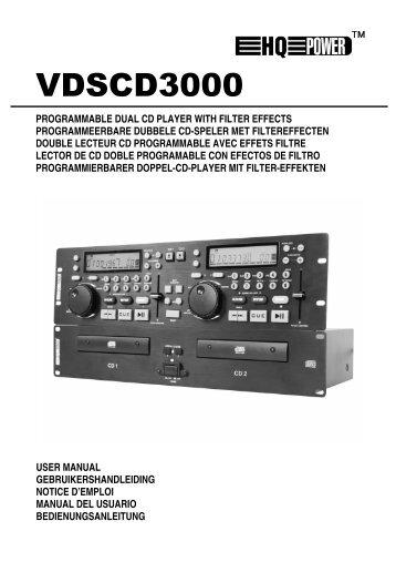 Vdscd3000 GB-NL-FR-ES-D - Futura Elettronica