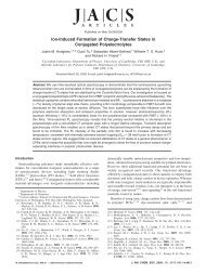 Ion-Induced Formation of Charge-Transfer States in - American ...