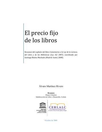 El precio fijo de los libros - Cerlalc