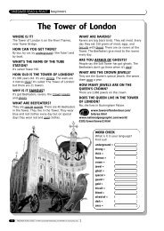 The Tower of London - Scholastic
