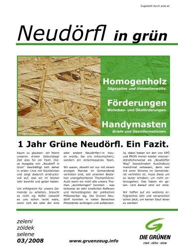 Zeitung 03/08 - Die Grünen – Burgenland