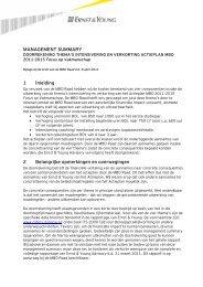 Memo Nederlands - MBO Raad 8 april 2011 ... DOORREKENING ...