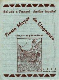 jSaiudo a Franco! jArriba España! - Arxiu Municipal de Llagostera