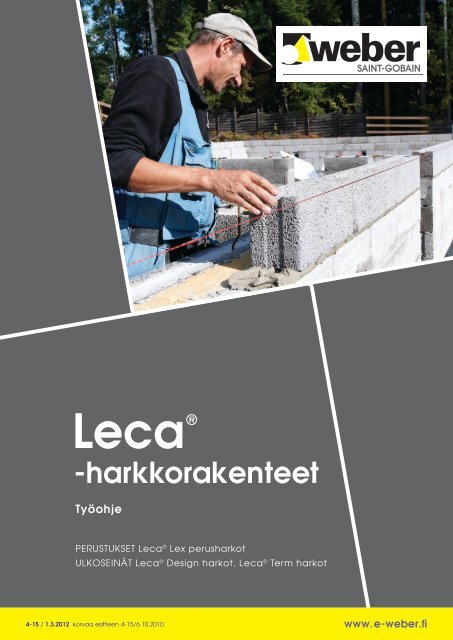 Leca harkkorakenteet - Taloon.com