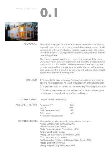 Course Outline Download