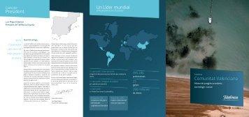 President Un Líder mundial Comunitat Valenciana - Atlas de ...