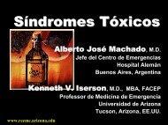 S í ndromes T ó xicos - Reeme.arizona.edu