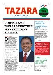 don't blame tazara structure, says president kikwete - TradeMark ...