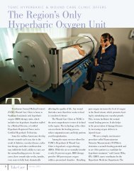 The Region's Only Hyperbaric Oxygen Unit - Terrebonne General ...