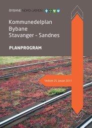 planprogram - Stavanger kommune