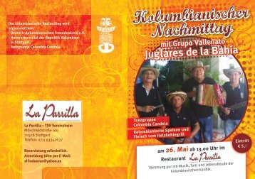 Kolumbianischer Nachmittag Kolumbianischer Nachmittag