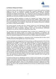 Le Service civique en France - Beobachtungsstelle für ...
