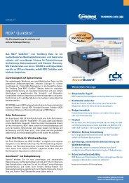 RDX® Cartridge Encryption - Tandberg Data