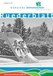 Ruederblatt - Gemeinde Schmiedrued-Walde