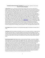 Presenter Bios - MN - National Child Welfare Resource Center for ...