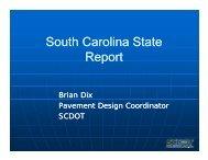South Carolina State Report