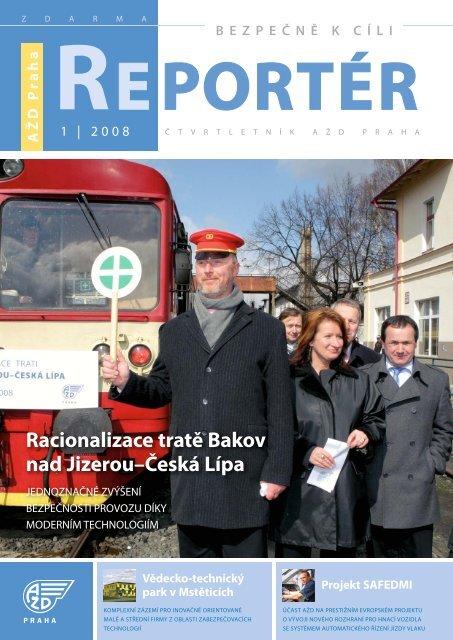 Reportér 2008/1 - AŽD Praha, sro