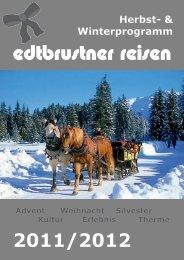 Herbst- & Winterprogramm