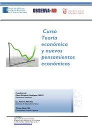 programa curso teoria economica y nuevos pensamientos ...