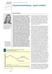Atypische Beschäftigung – typisch weiblich? - Statistisches ...