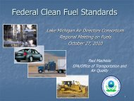 Federal Clean Fuel Standards - ladco