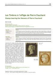 Les Timbres à l'effigie de Pierre Fauchard - Bibliothèque ...