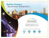 BNE 2010 annual report - Buffalo Niagara Enterprise