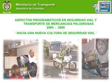 4. Presentación del Ministerio del Transporte - Consejo Colombiano ...
