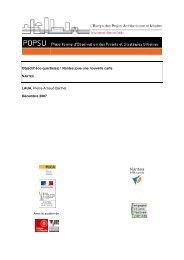 Nantes - Thème Offre urbaine - Objectif éco-quartiers - POPSU