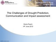 Drought - setting the scene - The UK Groundwater Forum
