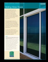 Sliding Glass Doors - Home Doors & Windows