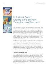 US Credit Cards - McKinsey & Company